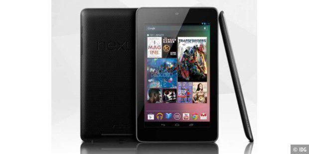 billig tablet google nexus 7 im ersten test pc welt. Black Bedroom Furniture Sets. Home Design Ideas