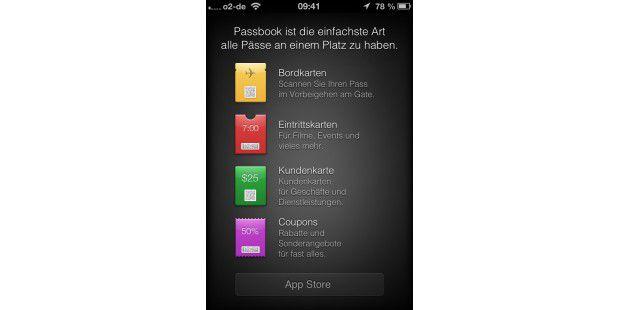 iOS 6: Passbook