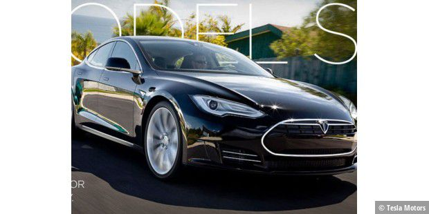 Tesla Model S erhält OTA-Update