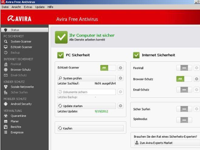 Scaricare avira antivirus gratis italiano 2013