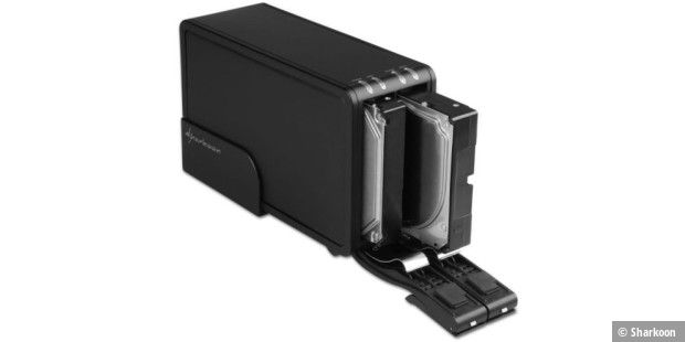 Sharkoon Vertical Docking USB-3.0-Station