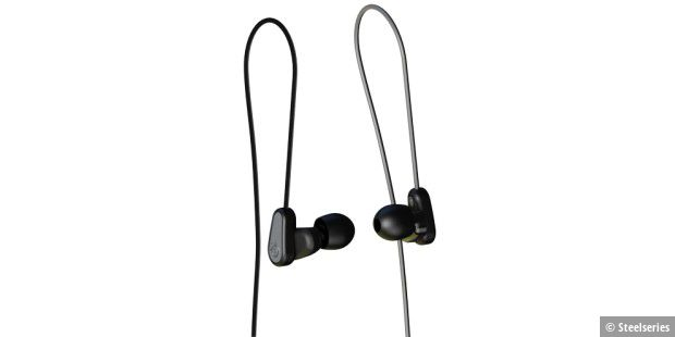 Ausgewogenes In-Ear-Headset.