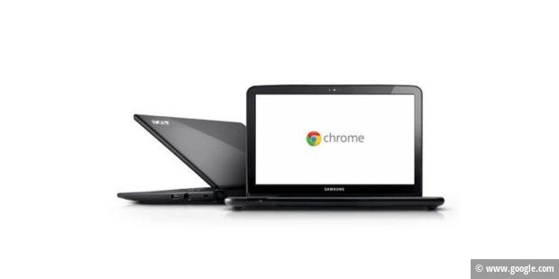 Chrome OS statt Windows, Ubuntu oder Mac OS.