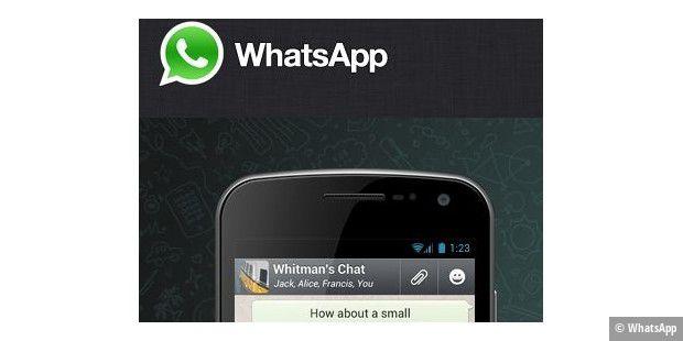Sicherheitsupdate Whatsapp