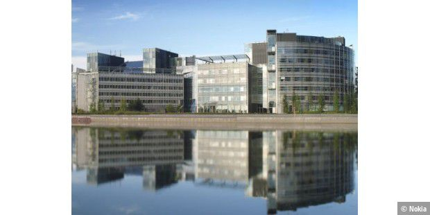 Das Nokia Head Office in Espoo, Finnland.