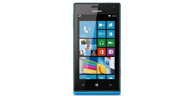 Ascend W1: Erstes Windows Phone 8 von Huawei