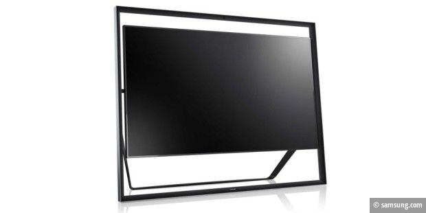 samsung stellt neuen ultra hd tv mit 85 zoll bildschirm vor pc welt. Black Bedroom Furniture Sets. Home Design Ideas