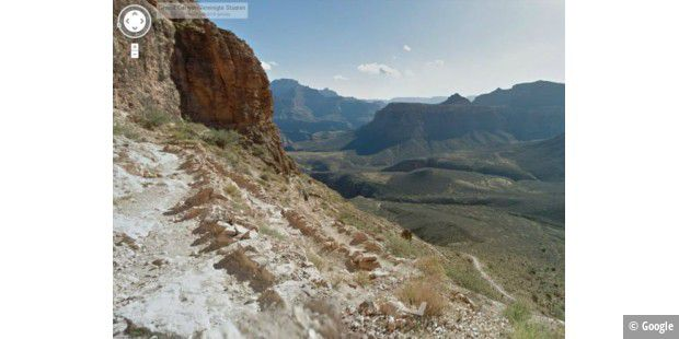 Grand Canyon virtuell mit Google erkunden