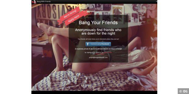 Facebook-App: Bang Your Friends