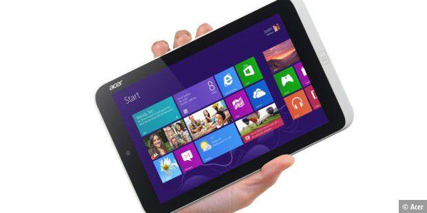 Acer Iconia W3 - erstes Windows-8-Tablet mit 8,1-Zoll-Display