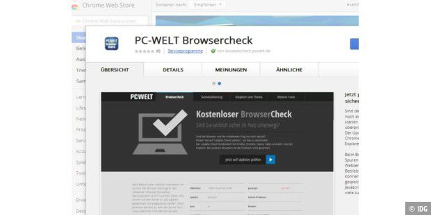 PC-WELT Browercheck
