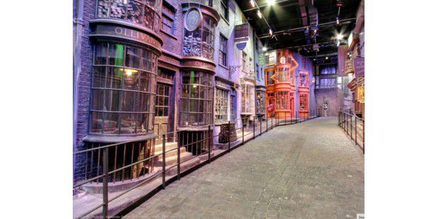 Harry-Potter-Filmkulisse auf Google Street View