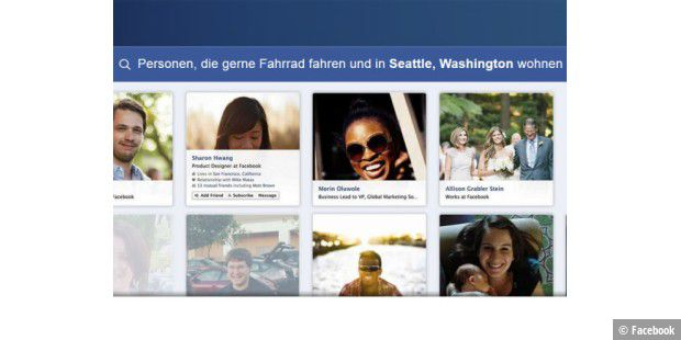 Graph Search startet in den USA
