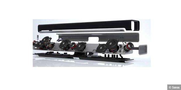 tv soundsystem mit streaming auf der ifa pc welt. Black Bedroom Furniture Sets. Home Design Ideas