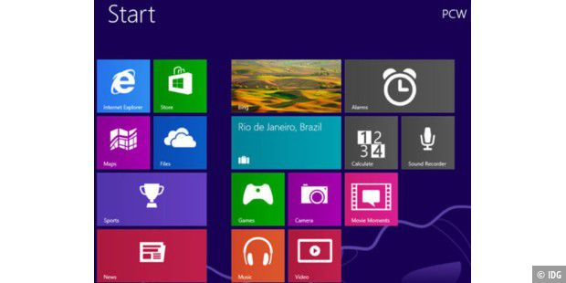 Windows 8.1 - der aktuellste Spross der Windows-Familie