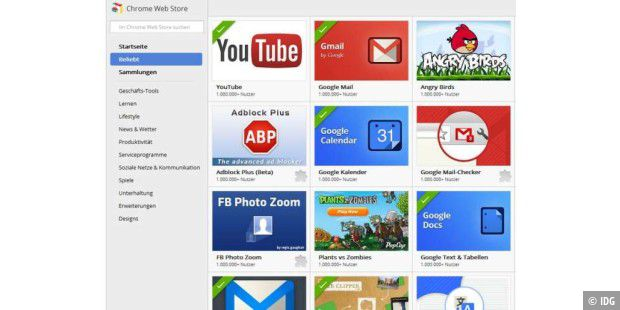 Google chrome kennenlernen