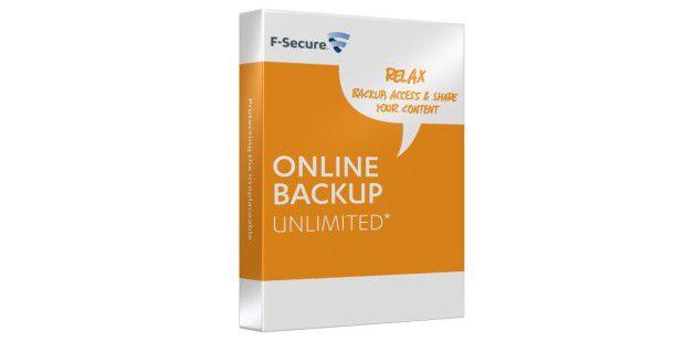 Unbegrenztes Speichervolumen bietet das Online-Backup vonF-Secure.