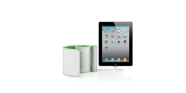 Leiden Sie unter Bluthochdruck? Das Blutdruckmessgerätfürs iPad von Withings hilft auf elegante Weise bei derÜberwachung.