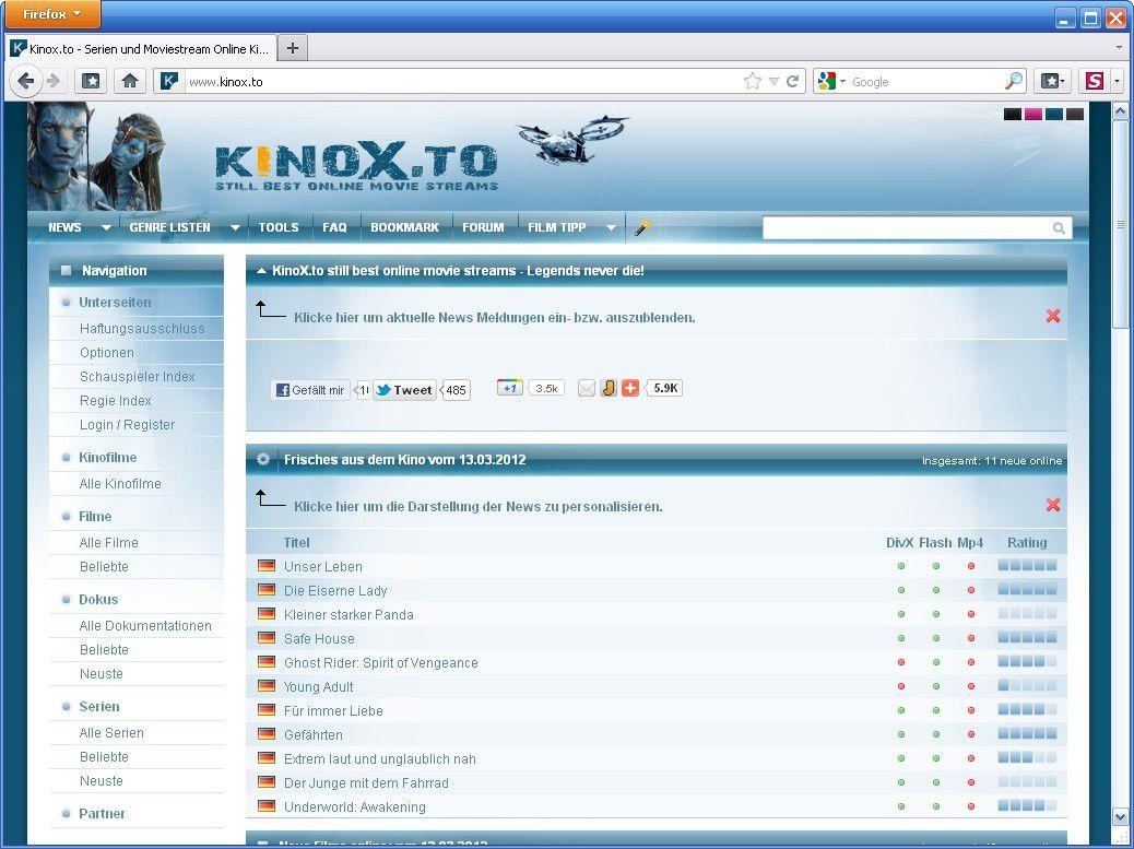 Kinox.To Rechtslage