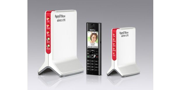 Zwei Router von AVM für LTE: Fritzbox 6842 LTE und 6810LTE