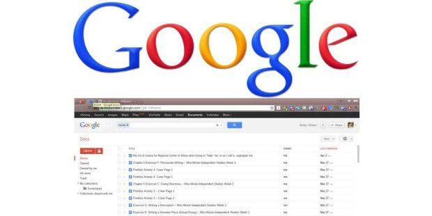 Mit Google Docs können Sie Dokumente online auch gleichzeitig mit anderen Personen bearbeiten.
