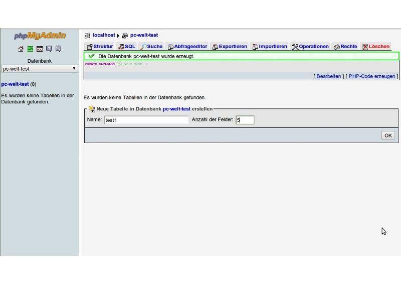 Mit phpMyAdmin MySQL-Datenbanken clever verwalten - PC-WELT