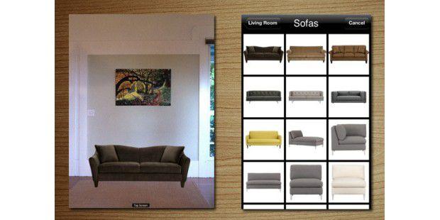 augmented reality apps die besten ar apps f r iphone und ipad pc welt. Black Bedroom Furniture Sets. Home Design Ideas