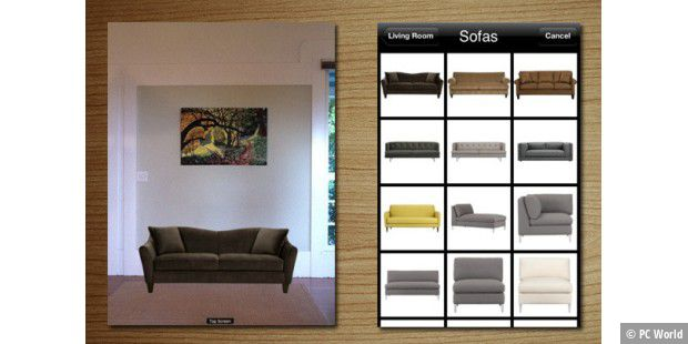 augmented reality apps die besten ar apps f r iphone und ipad pc welt. Black Bedroom Furniture Sets. Home Design Ideas