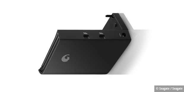 Thunderbolt-Adapter für die Seagate FreeAgent GoFlex Desk Desktop