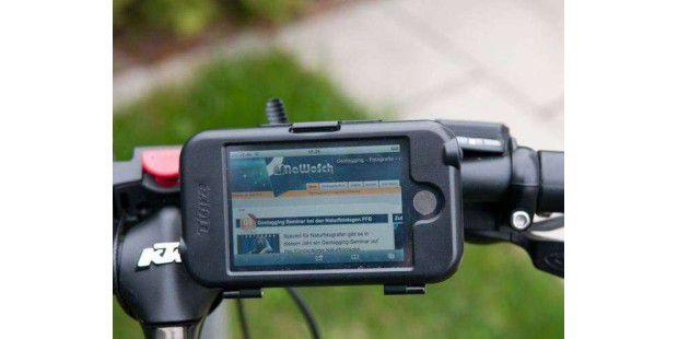 Fahrrad-Apps und iPhone-Hardware für iOS