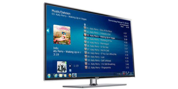 fernseher media portal das k nnen smart tvs pc welt. Black Bedroom Furniture Sets. Home Design Ideas