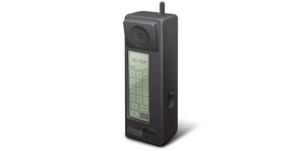 IBM Simon: Urahn moderner Smartphones