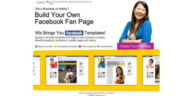 Facebook App Wix