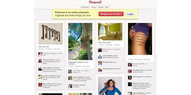 Facebook App Pinterest