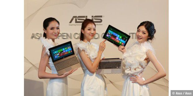 Mit abnehmbarem Tablet: Asus Transformer Book