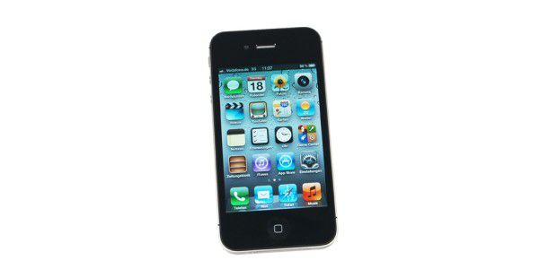iPhone 4S mit Retina-Display basierend auf IPS-Technik.