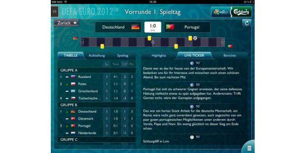 Apps zur Fußball-EM