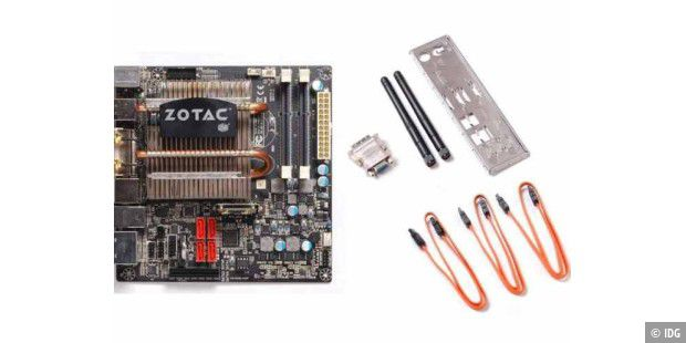 Zotac Mini-ATX-Mainboard.