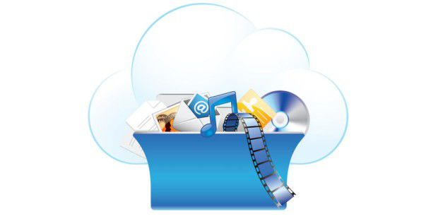 Cloud and Online Storage Concept