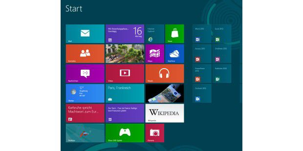 Office 2013 unter Windows 8