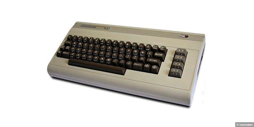 C64 wieder aufgebaut und ausprobiert