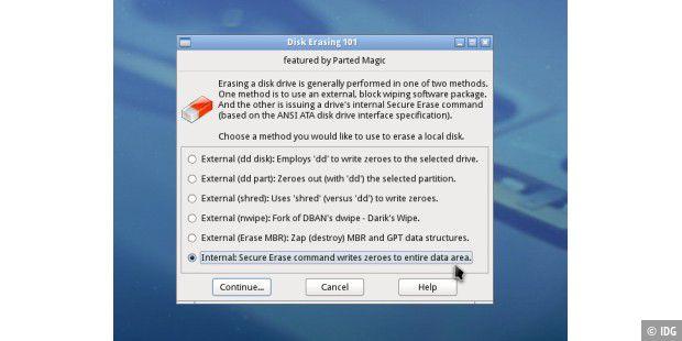 Daten auf der SSD komplett und sicher löschen - PC-WELT