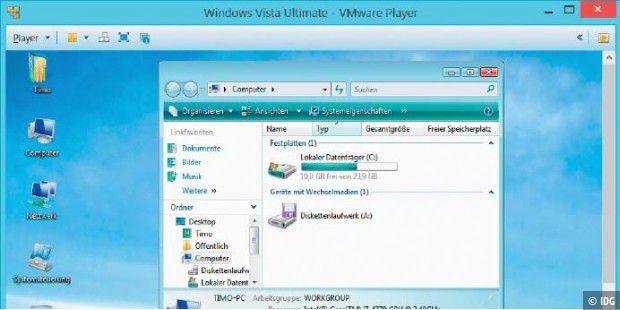 Tutorial - Mit Vmware Player virtuelle PCs einrichten - PC-WELT