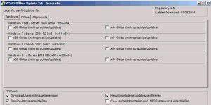 Update-Tool: WSUS Offline Update