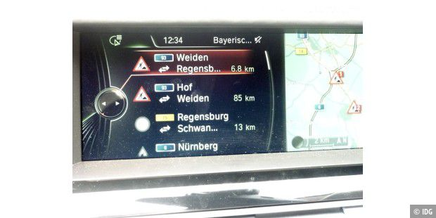 Navigation mit Verkehrslageinformationen