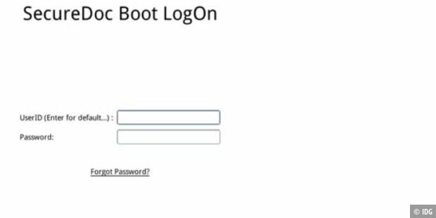 Festplattenverschlüsselung und Bitlocker-Verwaltung für