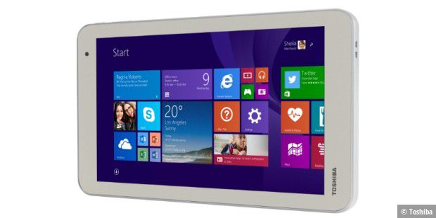 Günstiges Windows-Tablet im Test: Toshiba Encore 2