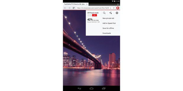 Opera-Browser für Android