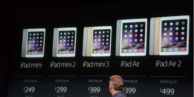 Apple-Event am 16. Oktober 2014: iPad Air 2 und iPad Mini 3