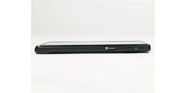 Das Huawei Ascend P1 misst nur 7,69 Millimeter.
